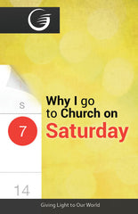 GLOW Tracts Pack - Why I Go To Church on Saturday (English)