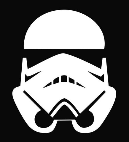 """Storm Trooper"" Vinyl Sticker - Boosted Designs"