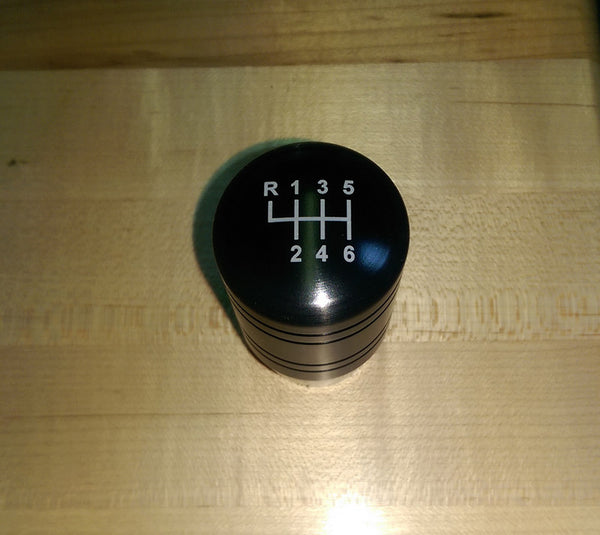 "Boosted Designs Black Aluminum Piston Shift Knob 3"" Tall - Boosted Designs"