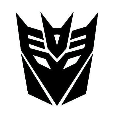 """Decepticon"" Vinyl Sticker - Boosted Designs"