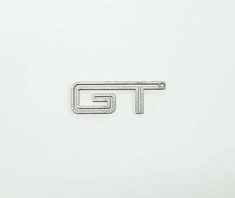 Boosted Designs Stainless Steel Double Mustang GT Keychain - Boosted Designs