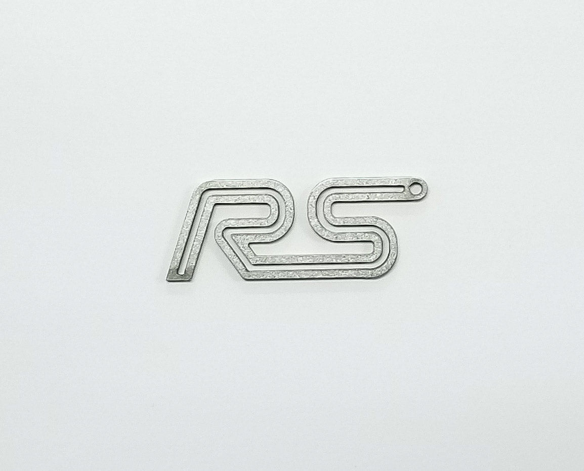 Boosted Designs Stainless Steel Double Focus RS Keychain - Boosted Designs