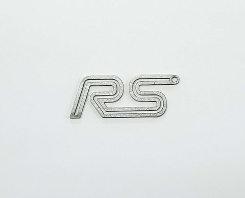 Boosted Designs Stainless Steel Double Focus RS Keychain