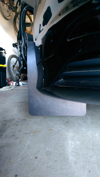 Boosted Designs Black Mudflap Set - Boosted Designs