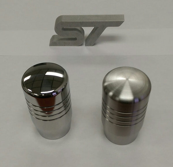 "Boosted Designs Stainless Steel Piston Shift Knob 3"" Tall - Boosted Designs"