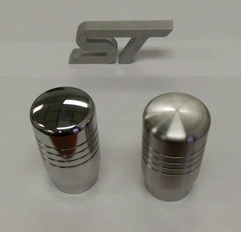 "Boosted Designs Stainless Steel Piston Shift Knob 2.5"" Tall - Boosted Designs"