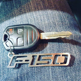 Boosted Designs Ford F-150 Stainless Steel Keychain - Boosted Designs