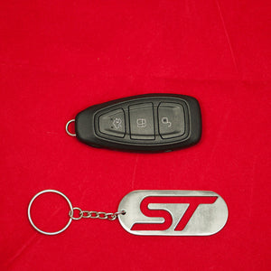 Boosted Deisgns Stainless Steel ST Dog Tag key chain - Boosted Designs