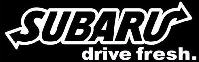 """Subaru Drive Fresh"" Vinyl Sticker - Boosted Designs"