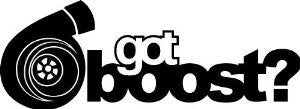 """Got Boost?"" Vinyl Sticker - Boosted Designs"