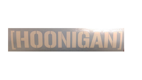 """HOONIGAN"" Vinyl Sticker - Boosted Designs"