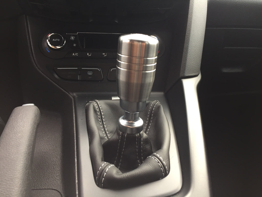 Boosted Designs Stainless Steel Piston Shift Knob 2 5 Tall