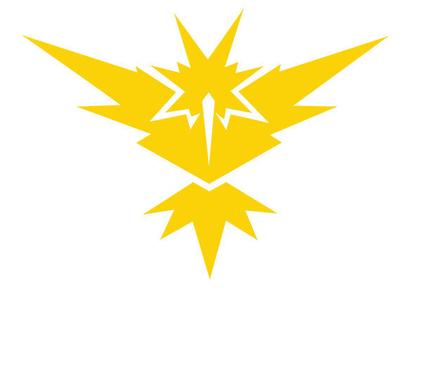! Pokémon Go Team Instinct Decal - Boosted Designs