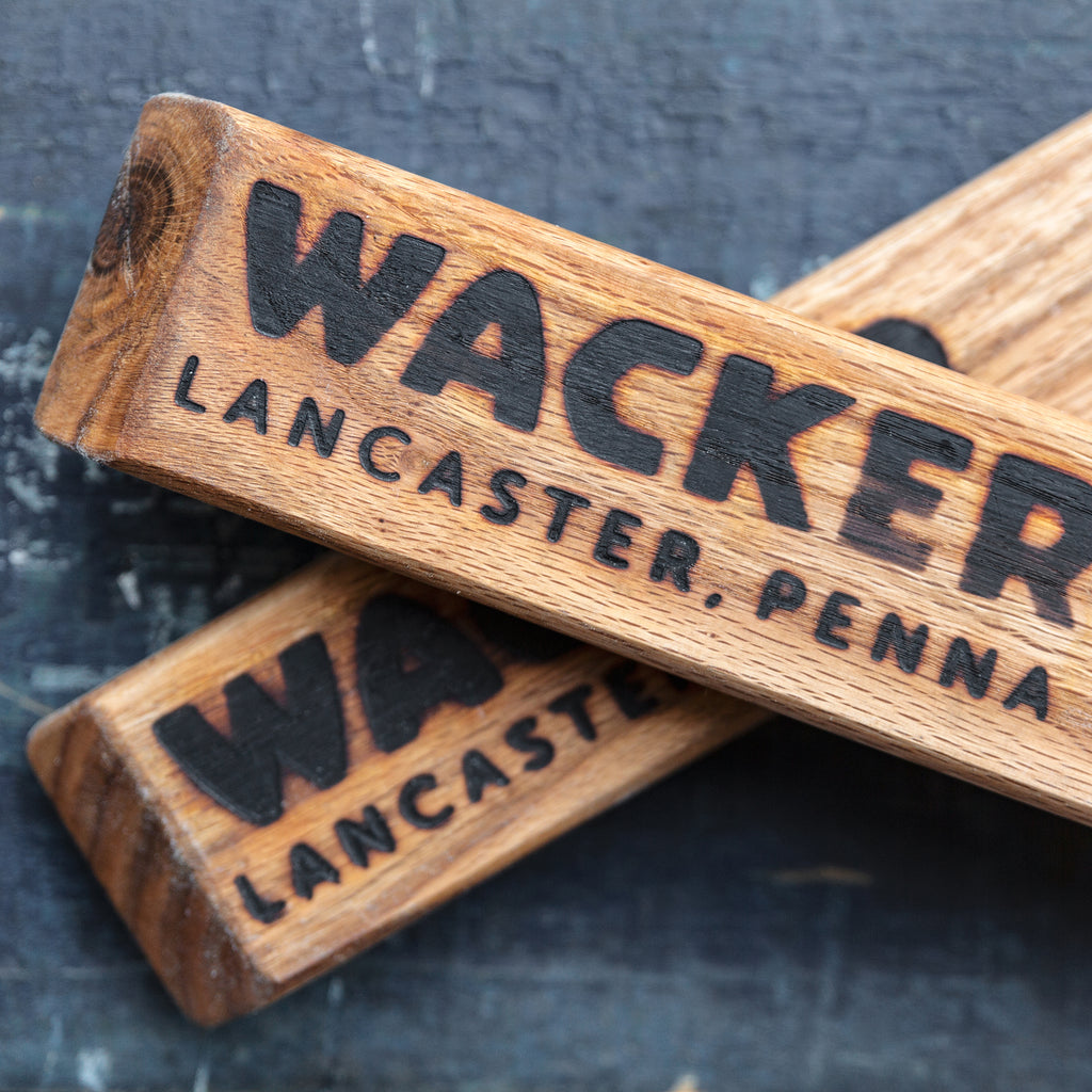 Wacker Brewing Co, Tap Handles