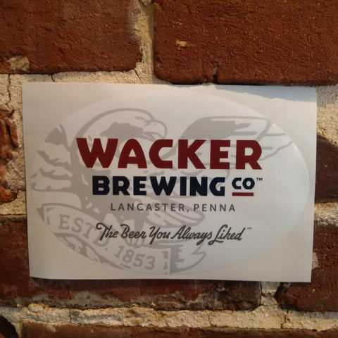 Wacker Brewing Co Sticker