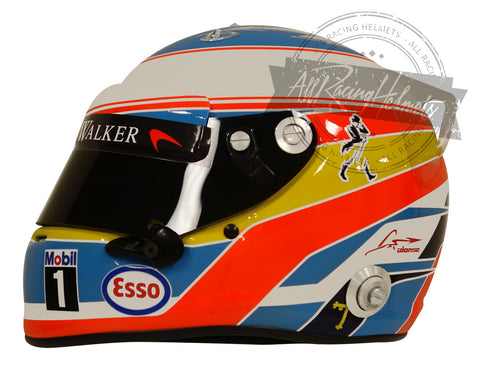Fernando Alonso 2016 F1 Replica Helmet Scale 1:1