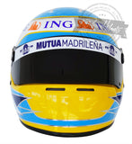 Fernando Alonso 2008 F1 Replica Helmet Scale 1: