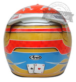 Fernando Alonso 2009 F1 Replica Helmet Scale 1: