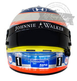 Fernando Alonso 2016 Singapore GP F1 Replica Helmet Scale 1:1