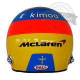 Fernando Alonso 2018 F1 Replica Helmet Scale 1:1