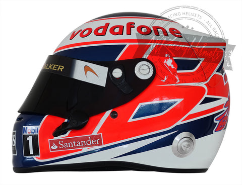 Jenson Button 2013 F1 Replica Helmet Scale 1:1