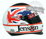 Jenson Button 2008 Silverstone F1 Replica Helmet Scale 1:1
