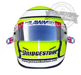 Jenson Button 2009 Monaco F1 Replica Helmet Scale 1:1
