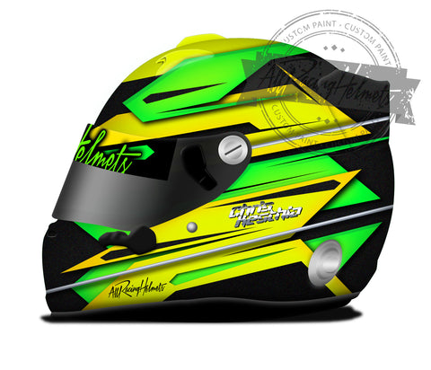 Chris Kesthia Helmet Design