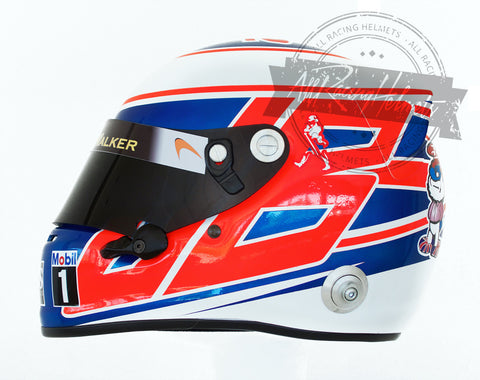 Jenson Button 2014 F1 Replica Helmet Scale 1:1