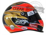 Romain Grosjean 2012 F1 Replica Helmet Scale 1:1