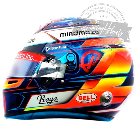 Romain Grosjean F1 2020 Replica Helmet Scale 1:1