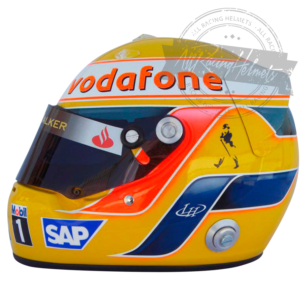 Lewis Hamilton 2008  F1 World Champion Replica Helmet Scale 1:1