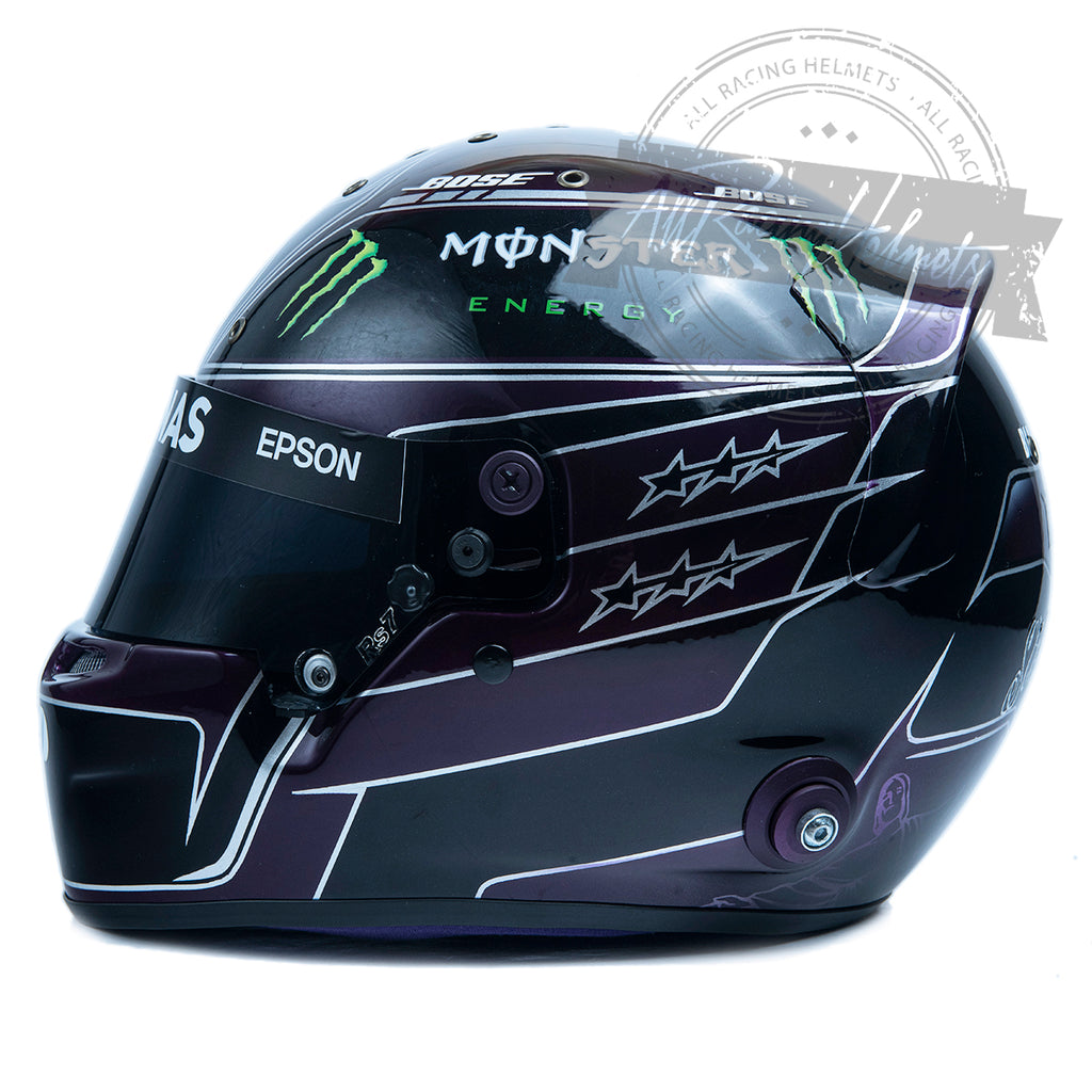 "Lewis Hamilton 2020 ""Black Lives Matter"" UPDATED F1 Replica Helmet Scale 1:1"