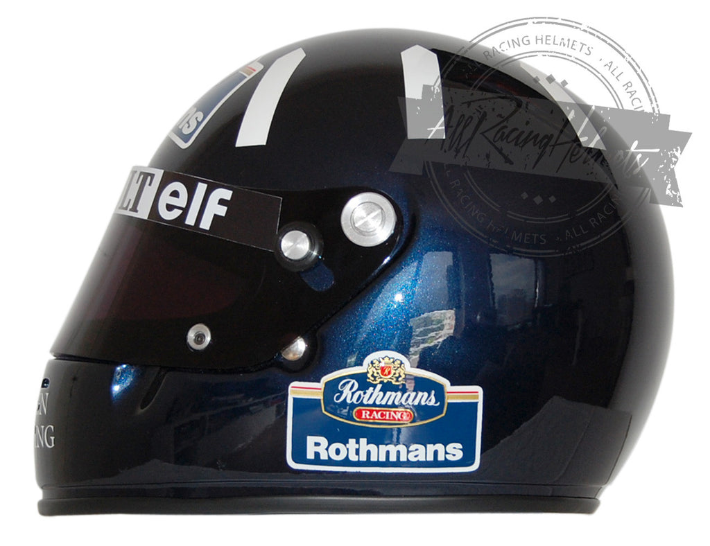 Damon Hill 1996 F1 Replica Helmet Scale 1:1