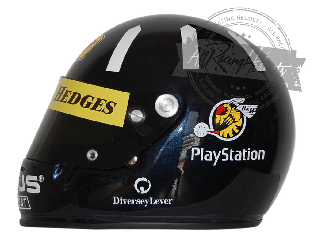 Damon Hill 1999 F1 Replica Helmet Scale 1:1