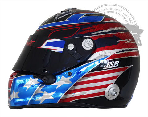 JSB Chrome Helmet