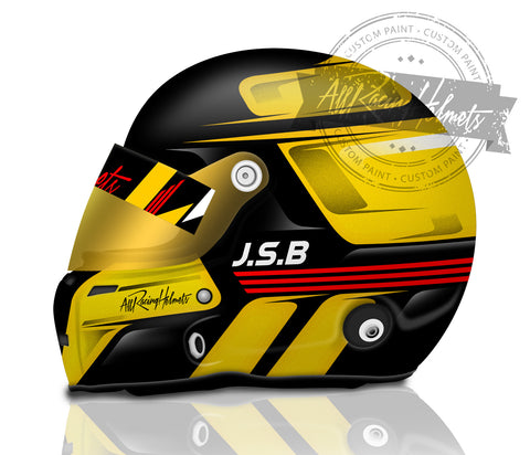 Jeffrey Bolt Helmet Design