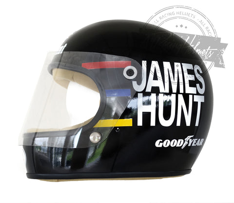 James Hunt 1976 F1 Replica Helmet Scale 1:1