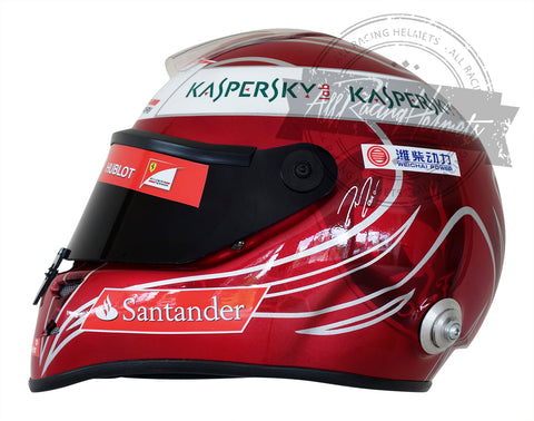 Felipe Massa 2013 Interlagos GP F1 Replica Helmet Scale 1:1