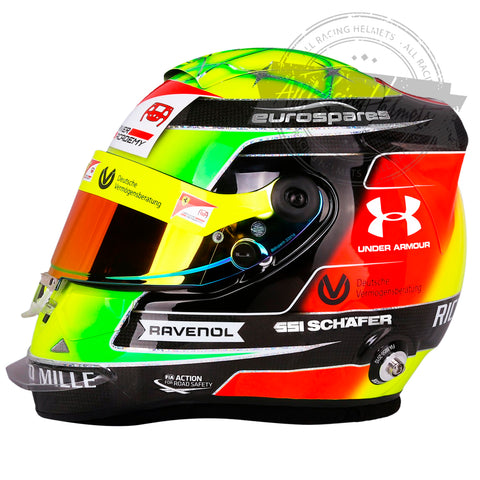 Mick Schumacher 2019 F2 Replica Helmet Scale 1:1