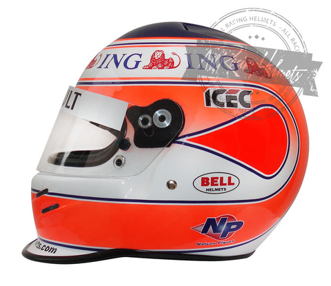 Nelson Piquet Jr 2008 F1 Replica Helmet Scale 1:1