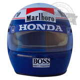 Alain Prost 1989 F1 World Champion Replica Helmet Scale 1:1
