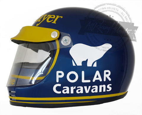 Ronnie Peterson 1974 F1 Replica Helmet Scale 1:1