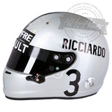 Daniel Ricciardo 1000th F1 Grand Prix Jack Brabham Tribute Replica Helmet Scale 1:1