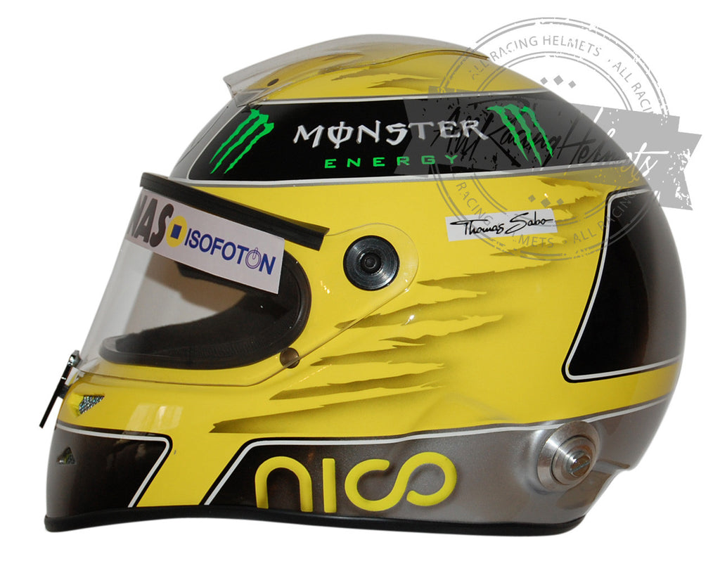 Nico Rosberg 2013 F1 Replica Helmet Scale 1:1 - All Racing ...