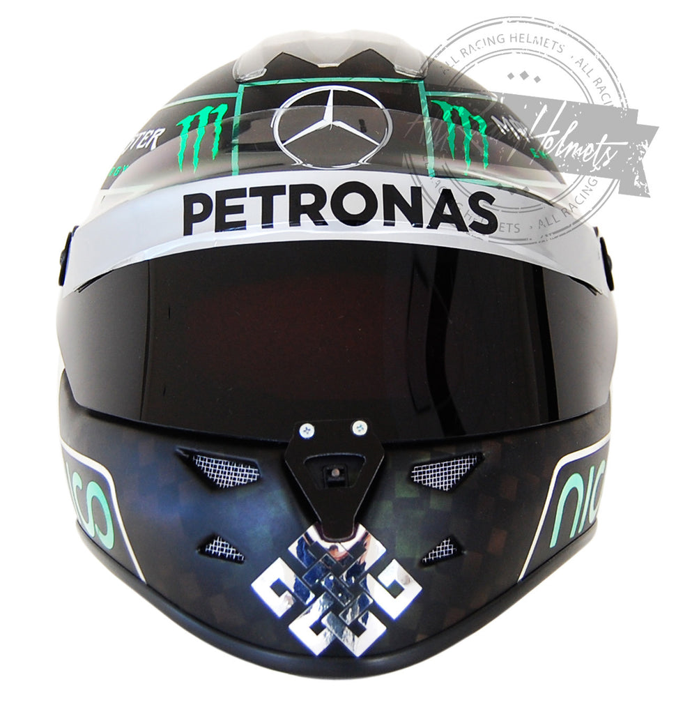 Nico Rosberg 2014 F1 Replica Helmet Scale 1:1 - All Racing ...