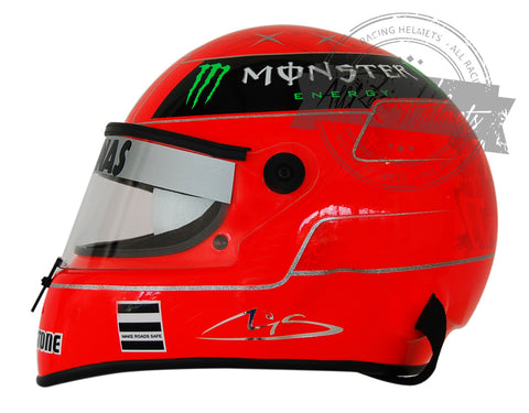 Michael Schumacher 2010 F1 Replica Helmet Scale 1:1