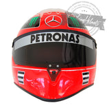 Michael Schumacher 2011 F1 Replica Helmet Scale 1:1