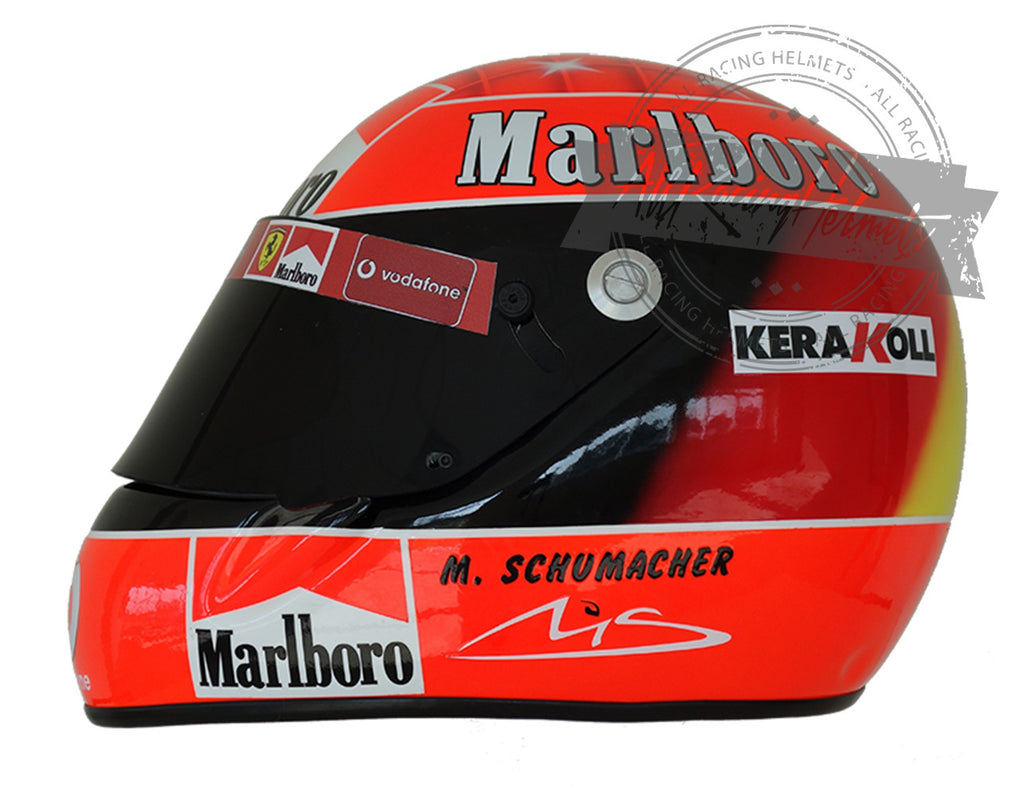 Michael Schumacher 2002 F1 Replica Helmet Scale 1:1