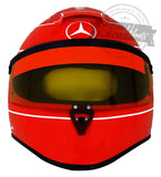 "Michael Schumacher 2010 ""Test Drive"" F1 Replica Helmet Scale 1:1"